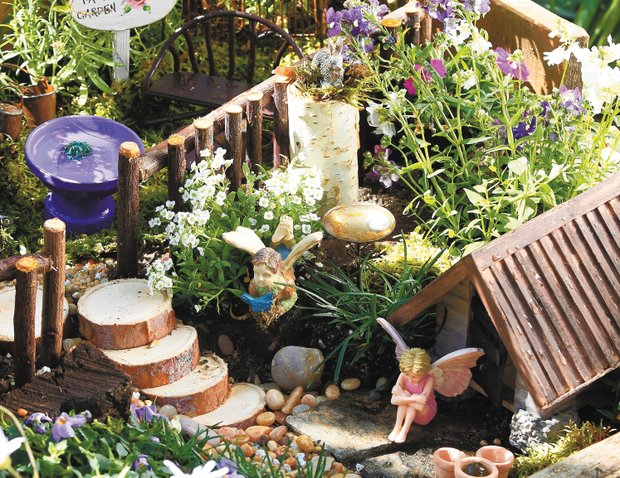 Step 5 - Create a Fairy Garden